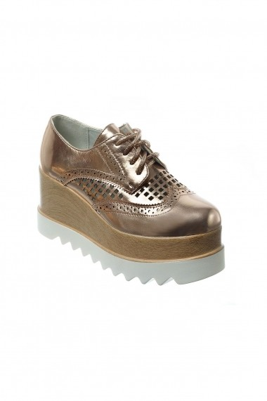 Pantofi Rammi RMM-239-sampanie Auriu