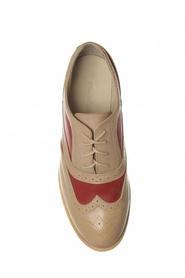 Pantofi Rammi RMM-6132red Bej