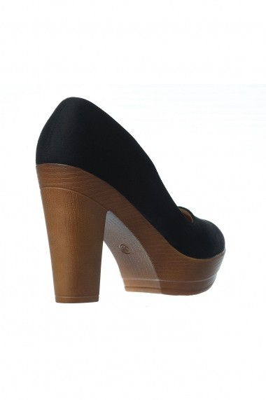 Pantofi Rammi RMM-7019 Negru