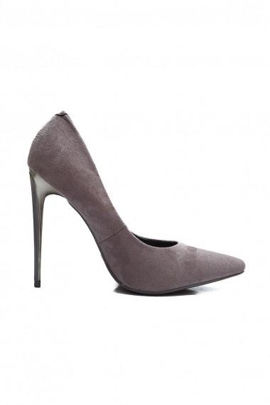 Pantofi Rammi RMM-8260-gri-petrol