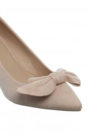 Pantofi Rammi bej cu funda
