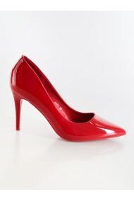 pantofi Rammi din lac rosii