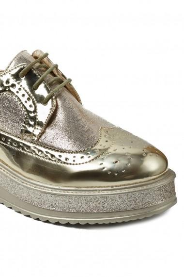 Pantofi Rammi RMM-832gold Auriu