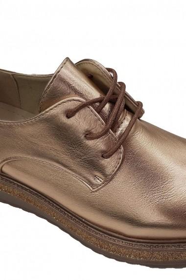 Pantofi Rammi bronze auriu