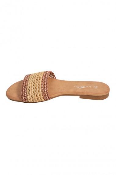 Papuci cu barete colorate