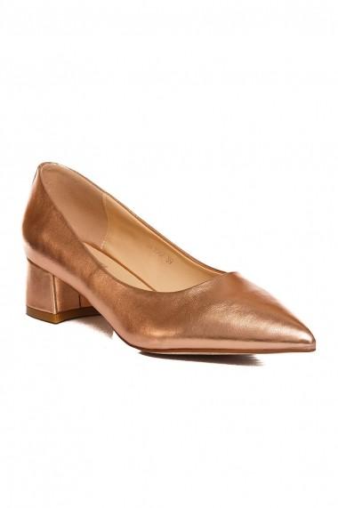 Pantofi Rammi RMM-df3567-champagne-gold auriu