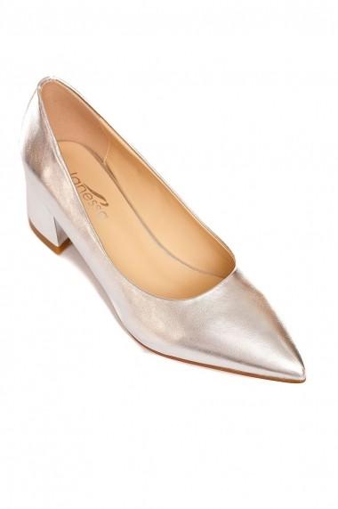 Pantofi Rammi RMM-df3567silver argintiu