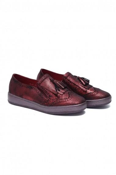 Pantofi Rammi RMM-g47bordo bordo