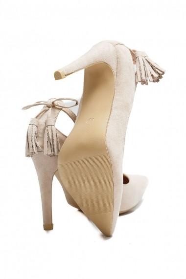Pantofi Rammi stiletto RMM-gh--208-nude Nude