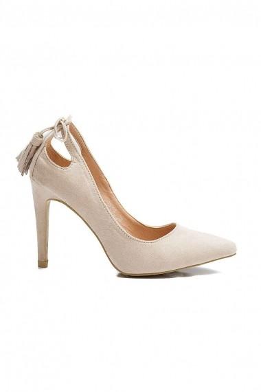 Pantofi Rammi stiletto cu canafiori