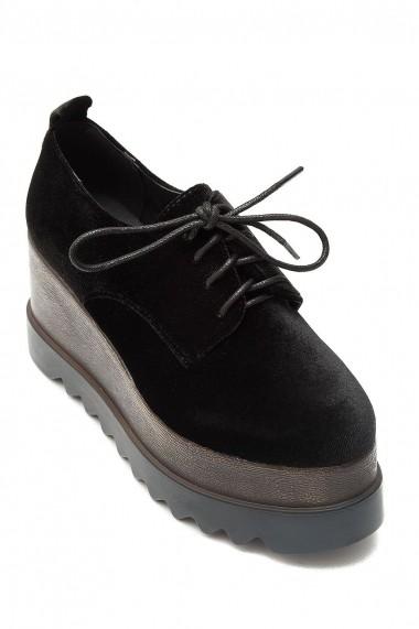 Pantofi Rammi usori din catifea