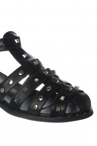 Sandale Rammi RMM-nero-39 Negru