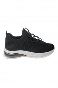 Pantofi sport negri cu siret
