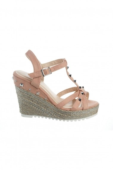 Sandale cu platforma Rammi RMM-to2 Roz