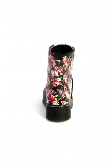 ghete Rammi negre cu flori