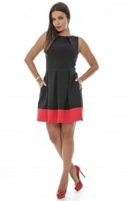 Rochie scurta Roh Boutique CLD228 Neagra