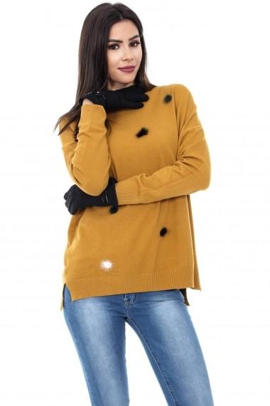 Manusi Roh Boutique ROH-4967 - A0166 negru
