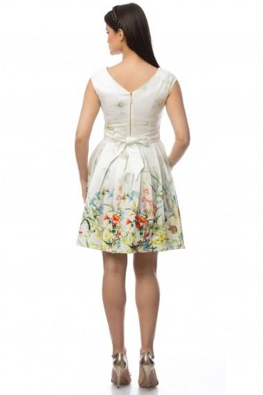 Rochie scurta Roh Boutique DR2918 Floral