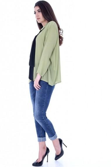 Camasa Roh Boutique BR1398 Kaki