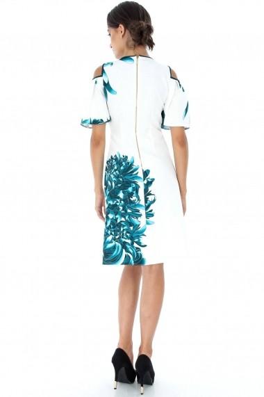 Rochie scurta Closet London DR3042 Floral