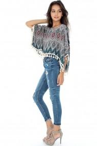 Bluza Roh Boutique BR1446 multicolor One Size
