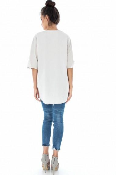 Bluza Roh Boutique BR1451 Crem