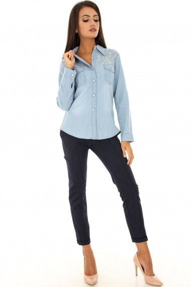 Camasa Roh Boutique BR1486 denim