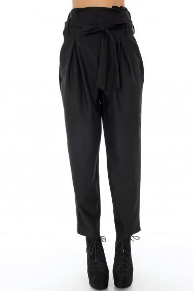 Pantaloni largi Roh Boutique TR205 Negri