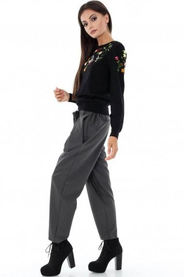 Pantaloni largi Roh Boutique TR206 Gri