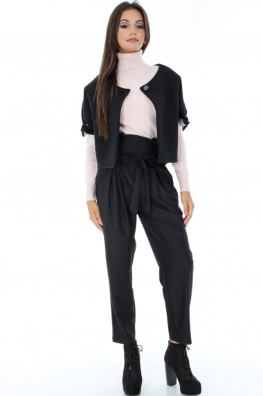 Bolero Roh Boutique J326 negru One Size