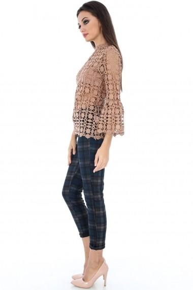 Bluza Roh Boutique din dantela - BR1554 bej