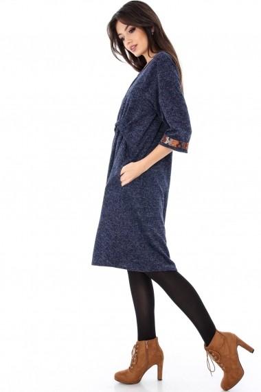Rochie midi Roh Boutique DR3212 albastra
