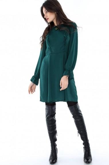 Rochie de zi Roh Boutique DR3239 verde