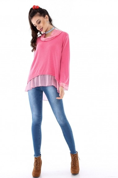 Bluza Roh Boutique ROH-6653 - BR1682 roz One Size