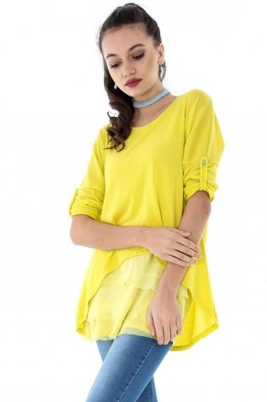 Bluza Roh Boutique ROH-6666 - BR1695 galben One Size
