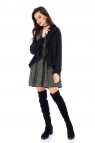 Cardigan Roh Boutique JR378 Negru