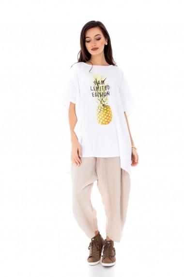 Bluza Roh Boutique ROH-6759 - BR1738 alb One Size