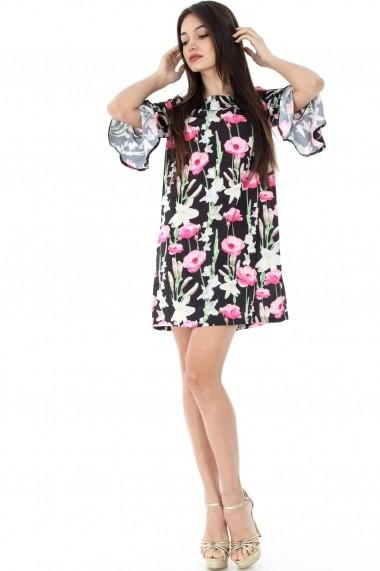 Rochie scurta Roh Boutique DR3317 Floral