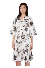 Rochie de zi Roh Boutique midi - CLD1011 Multicolora