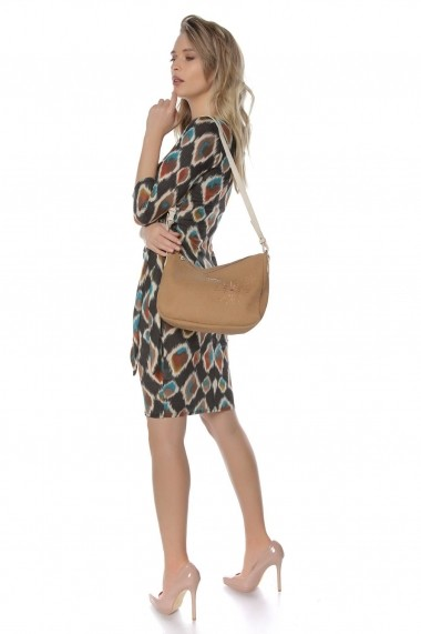 Rochie de zi Roh Boutique midi - DR3700 Print