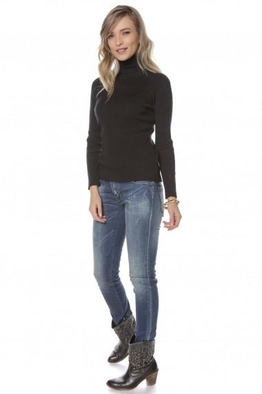Helanca Roh Boutique neagra, ROH, catifelata - BR2030 negru
