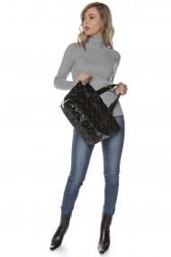 Geanta Roh Boutique neagra , ROH - A0361 negru