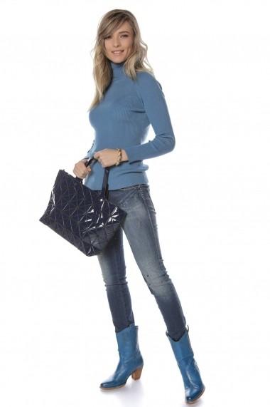 Geanta Roh Boutique bleumarin, ROH - A0362 bleumarin