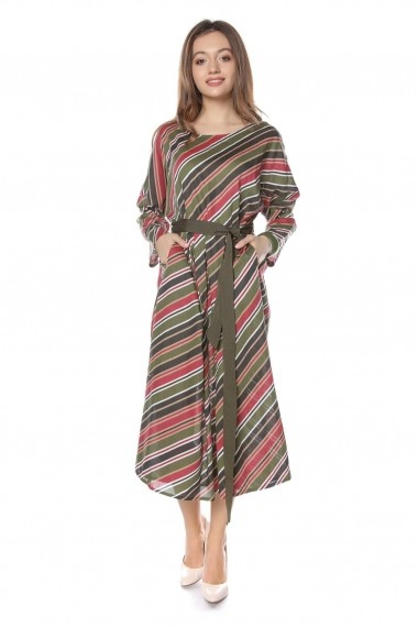 Rochie de zi Roh Boutique midi - DR3725 multicolora
