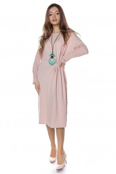Rochie de zi Roh Boutique midi - DR3722 roz