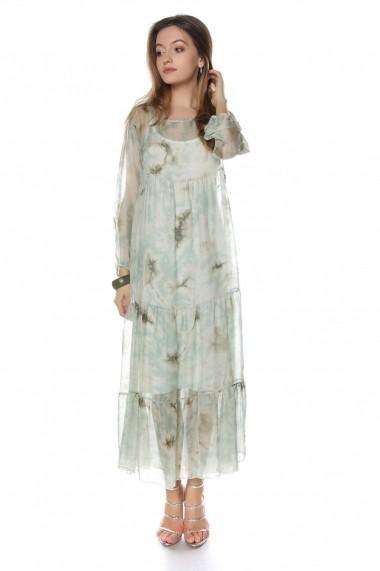 Rochie de zi Roh Boutique maxi - DR3715 Floral