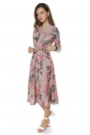 Rochie de zi Roh Boutique midi - DR3738 Floral