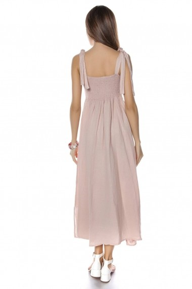 Rochie de zi Roh Boutique maxi - DR3742 roz