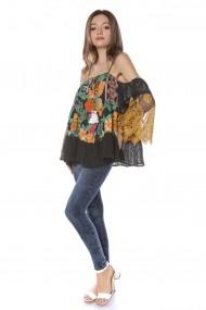 Bluza Roh Boutique BR2040 Floral