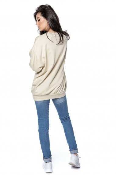 Hanorac Roh Boutique casual, oversize - ROH - BR2293 stone